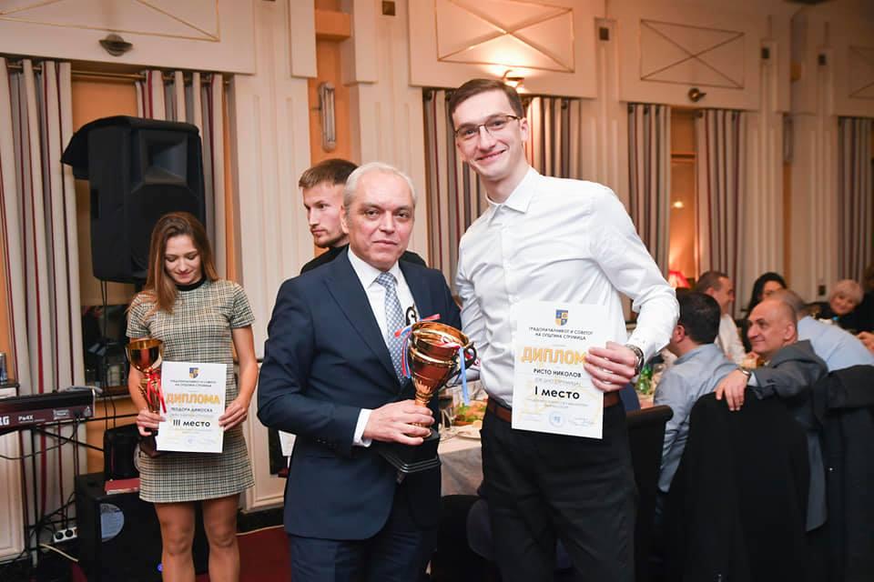 Николов најдобар спортист, ОК Џио екипа а Тренчовски тренер – Кој се најуспешните во спортот за 2019 во Струмица (фото)