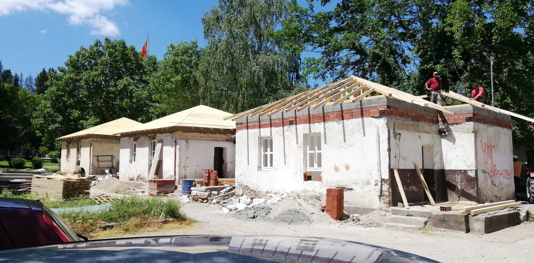 Во Дојран се реновираат три објекти за научно истражувачки цели за заштита на езерото (фото)