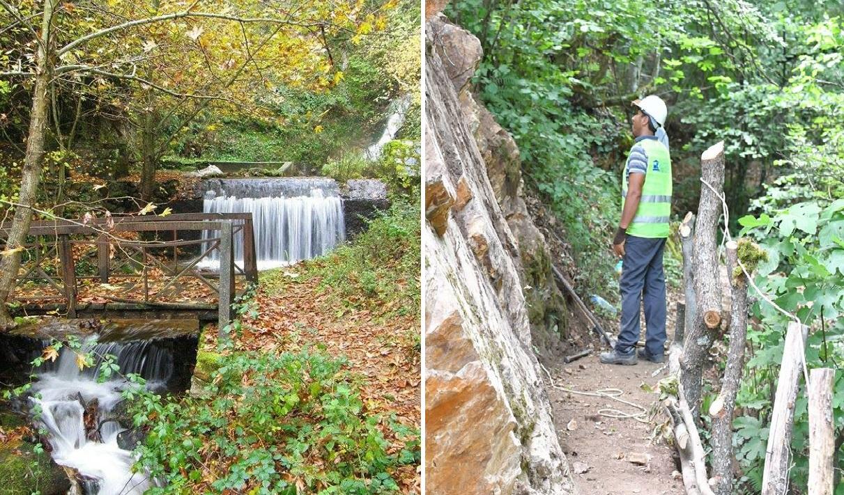 Општина Струмица дополнително го уредува локалитетот околу Габровските водопади а ја проширува патеката и до третиот !