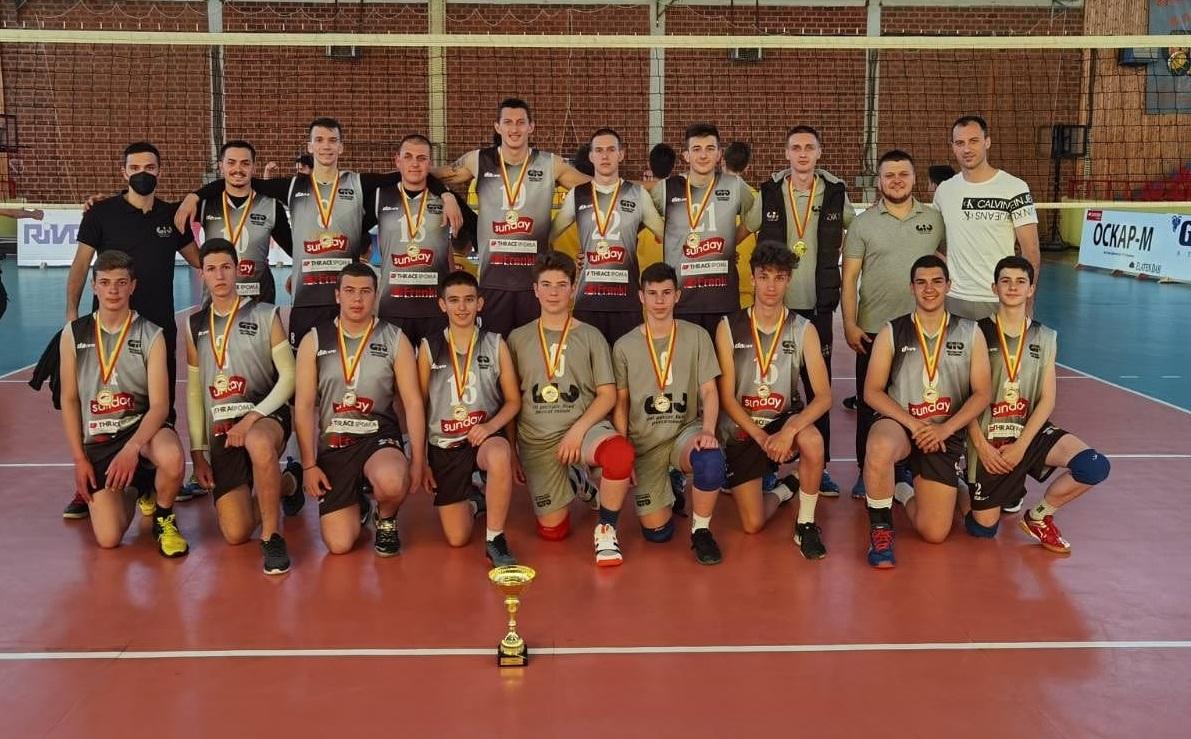 Младите на Џио Струмица ШАМПИОНИ – без пораз ја заокружија сезоната