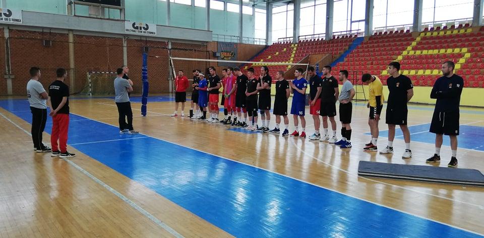 Одбојкарите на Македонија се собраа во Струмица и ги почнаа подготовките за злато во Европската лига (фото)