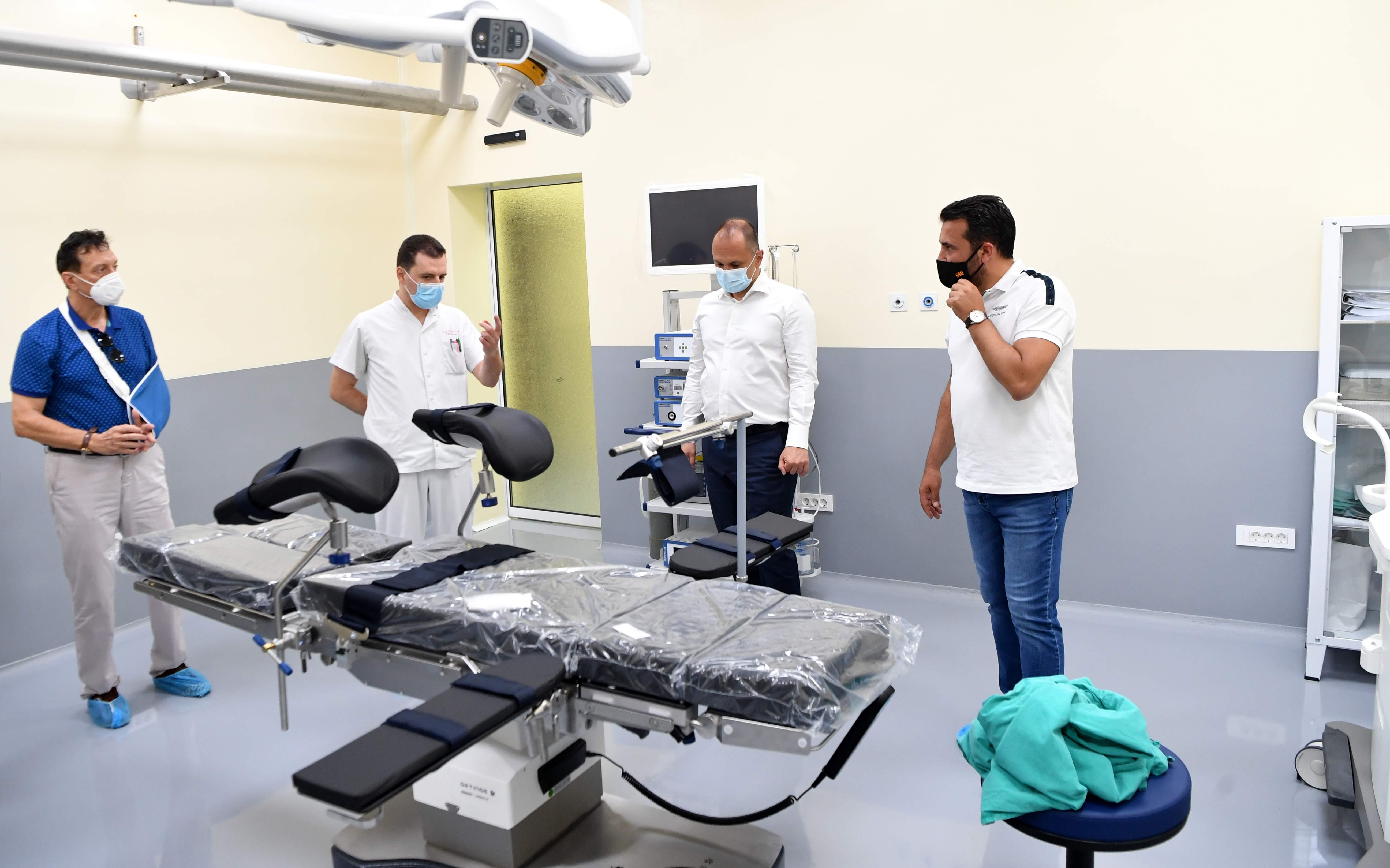 Болницата во Гевгелија доби нова хируршка сала, реновирани одделенија со опрема а наскоро и компјутерска томографија